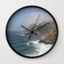 Southern California Coast Wall Clock