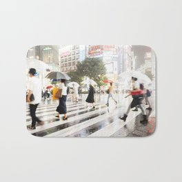 The Shibuya Crossing Bath Mat