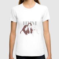 haim T-shirts featuring HAIM by chazstity
