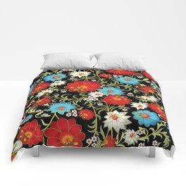 Art Flowers V6 Comforters