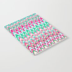 Making Waves Pink and Preppy Notebook