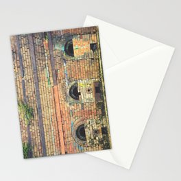 Old Brickworks kilns Stationery Cards