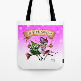 Decay & Dementia Having a Good Time! Tote Bag