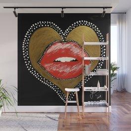 Donne moi ta bouche Wall Mural