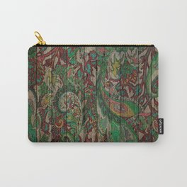 Kashmir on Wood 05 Carry-All Pouch