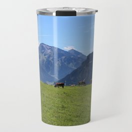 The Austrian Alps Travel Mug