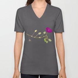 Flower No. 3: Rock purslane Unisex V-Neck