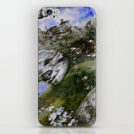 Face your fading World iPhone Skin