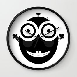 Happy Little Chappy Wall Clock
