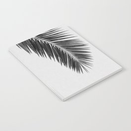 Palm Leaf Black & White I Notebook