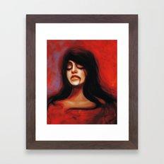 Antygona Framed Art Print