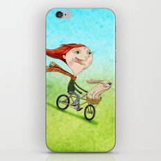 Bicicleta iPhone & iPod Skin