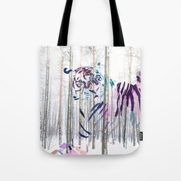 Protected forest Tote Bag