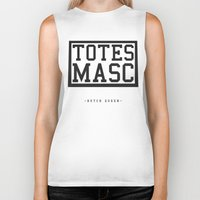 totes Biker Tanks featuring Totes Masc - Classic by lessdanthree