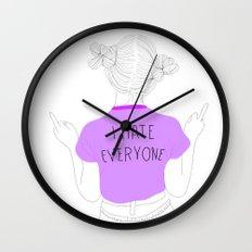 everyone Wall Clock