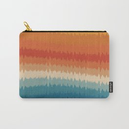 Colorful Static Carry-All Pouch