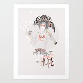 Pleasure & Hope Art Print