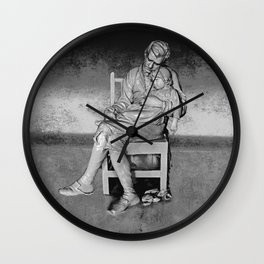 Study in Love Wall Clock