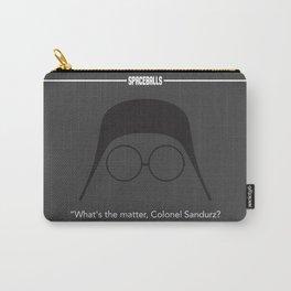 Spaceballs Dark Helmet minimalist Carry-All Pouch