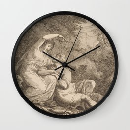 Armida Crowning Rinaldo with Flowers, 1771 Wall Clock