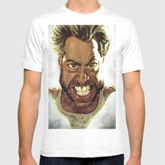 Wolverine Caricature Mens Fitted Tee White SMALL