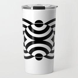 Beggar's Knoll Black Travel Mug