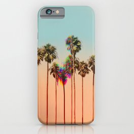 Glitch beach iPhone Case