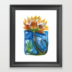 Wild Lotus Framed Art Print