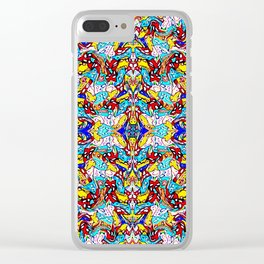 PATTERN-497 Clear iPhone Case