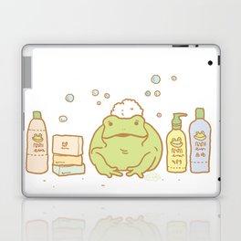 Shampooing Demonstration Laptop & iPad Skin