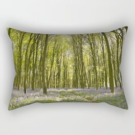 Passage through the Woods Rectangular Pillow