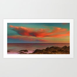 Sea and Sky II Art Print