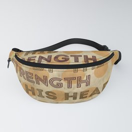 A true hero vintage and retro poster Fanny Pack