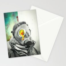 Lung Blood Stationery Cards