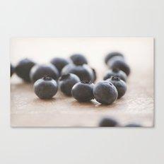 Blue Fruit Canvas Print