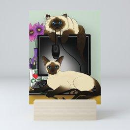 We are Siamese Mini Art Print