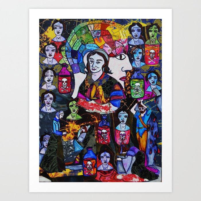 Gesche Gottfried Art Print
