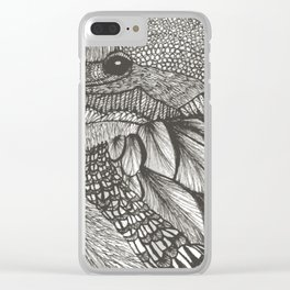 Bird kingfisher Clear iPhone Case