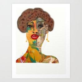 Face It 2 Art Print