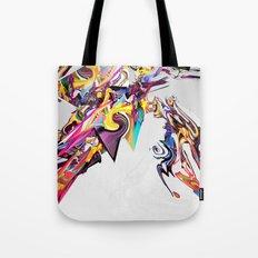 Spiral Static Tote Bag