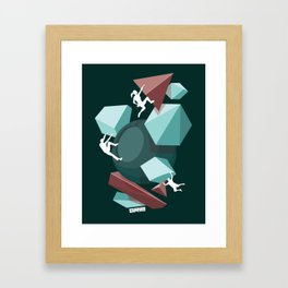 fun team Framed Art Print