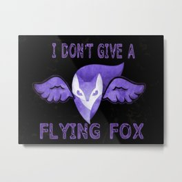 Flying Fox Metal Print