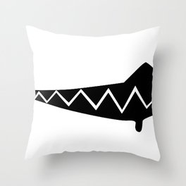Silly Grin Inverted Throw Pillow