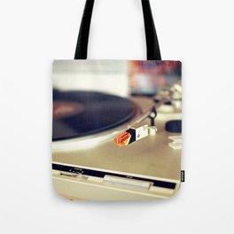 Vinyl Lover Tote Bag