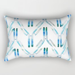 IgG Antibody, Science Art Rectangular Pillow