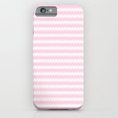 Pink Zigzag Design Slim Case iPhone 6s