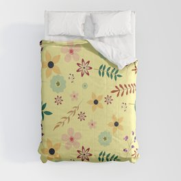 Nice and beautiful floral pattern  Comforters
