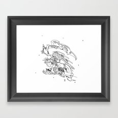 Icarus the Insomniac Framed Art Print