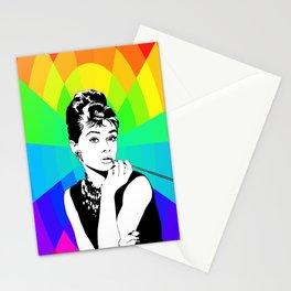 Rainbow Audrey Stationery Cards