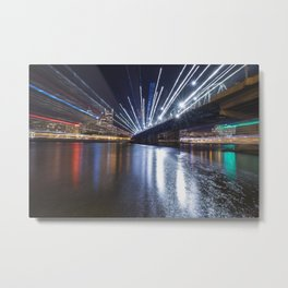 Zoom City Metal Print